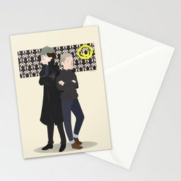 Baker Street Boys Stationery Cards