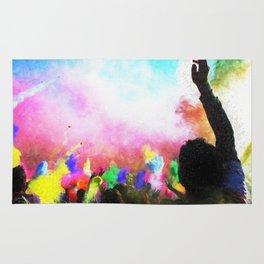 Holi Colors Rug