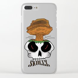 Skullz 2 Clear iPhone Case