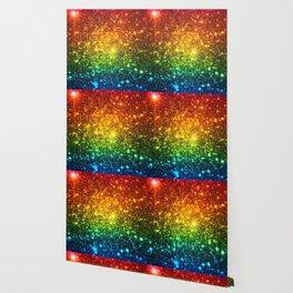RainBoW Sparkle Stars Wallpaper