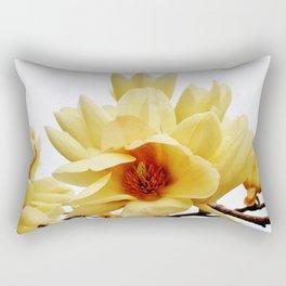 Butterfly Magnolia Rectangular Pillow