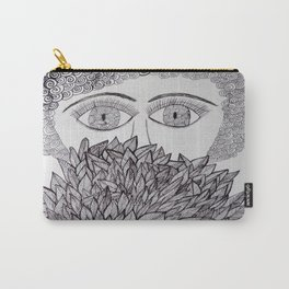 The face behind the bush Carry-All Pouch