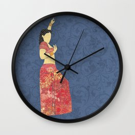 Belly dancer 5 Wall Clock