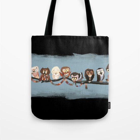 Doctor Hoo - Painted Version Tote Bag
