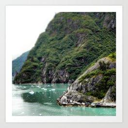 Mountain Meets the Ocean Art Print