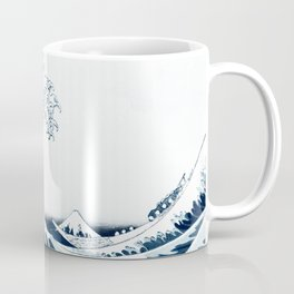 The Great Wave - Halftone Coffee Mug