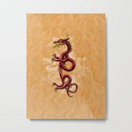 Oriental dragon Metal Print