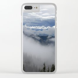 Travell The Valley of Mist Clear iPhone Case
