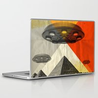 return Laptop & iPad Skins featuring the return by Vin Zzep