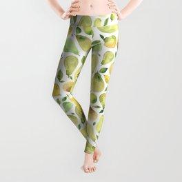 Watercolour Pears Leggings