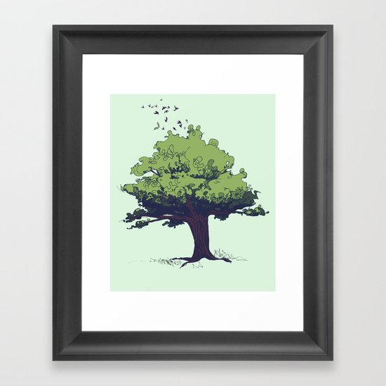 Arbor Vitae - Tree of Life Framed Art Print