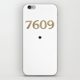 Room 7609 iPhone Skin