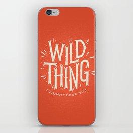 Wild Thing iPhone Skin