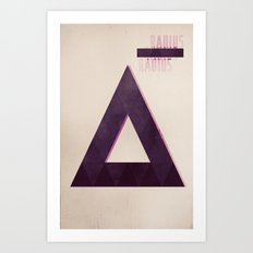 rad_ius Art Print