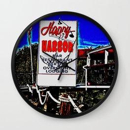Happy Harbor - The Good Ol' days Wall Clock