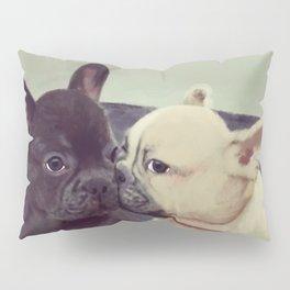 Frenchie kiss Pillow Sham