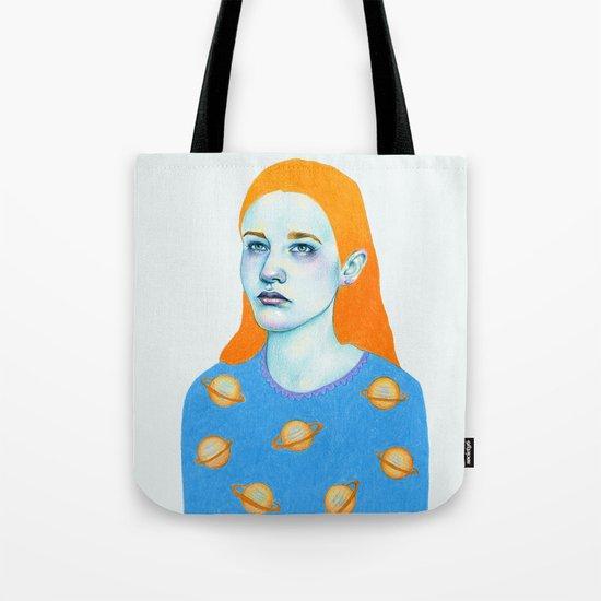 Saturn Girl Tote Bag