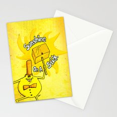 Sunshine on a stick. Time for Timer art series. Stationery Cards
