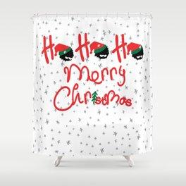 ho ho ho little santa Shower Curtain
