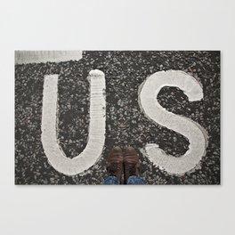 B-US-ES Canvas Print