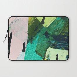 Hopeful[4] - a bright mixed media abstract piece Laptop Sleeve