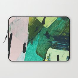 Hopeful[4] - a bright mixed media abstract piece Laptop Sleeve