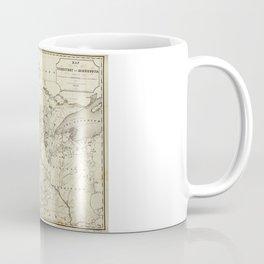 Territory of Minnesota Map (1849) Coffee Mug