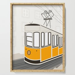 Lisbon, Portugal, Tram, Funicular, Ascensor da Bica Serving Tray
