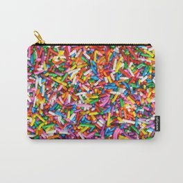 Rainbow Sprinkles Sweet Candy Colorful Carry-All Pouch