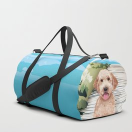 Doodle at the Beach Duffle Bag