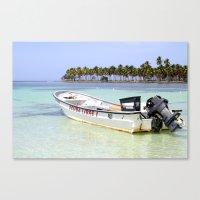 scuba Canvas Prints featuring Scuba Libre by Dancing Dream