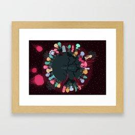 Planet Twelve Framed Art Print
