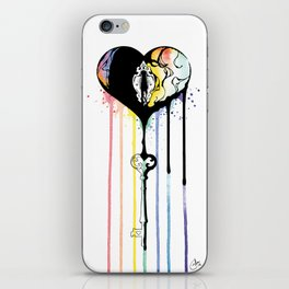 Rainbow Heartbleed iPhone Skin