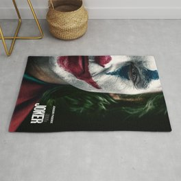 Joker Movie Poster, Joaquin Phoenix Poster, Movie Poster Printable Wall Art, Digital Downloads, Home Decor Wall Art, High Quality Photo Rug