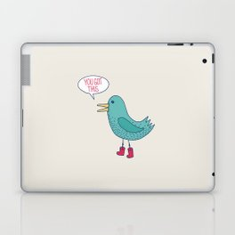 Emotional Support Duck Laptop & iPad Skin