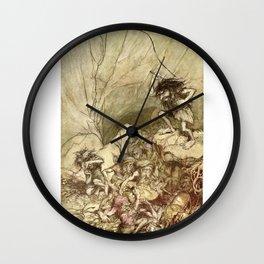 El anillo de Nibelungo Wall Clock