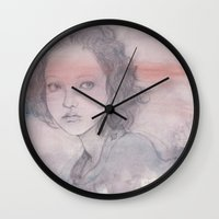 shadow Wall Clocks featuring shadow by Shiro