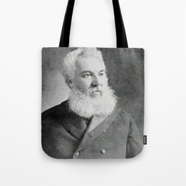 Alexander Graham Bell, the telephone inventor Tote Bag