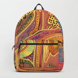 melting pattern Backpack