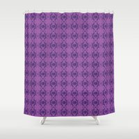 majoras mask Shower Curtains featuring Majoras Mask by Quinncinati