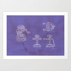 R.O.B Art Print