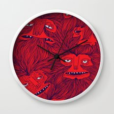 Hairwolves Wall Clock
