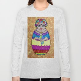 Frida Babushka Long Sleeve T-shirt