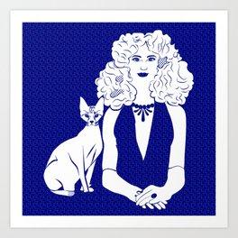 Poznanski-Cat2 Art Print