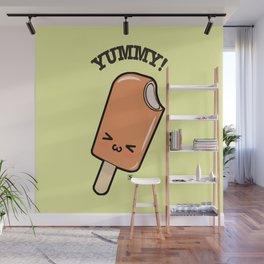 Ice Cream Kawaii Wall Mural