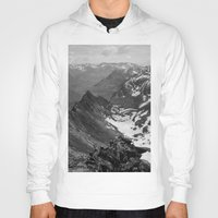 jon snow Hoodies featuring Archangel Valley by Kevin Russ