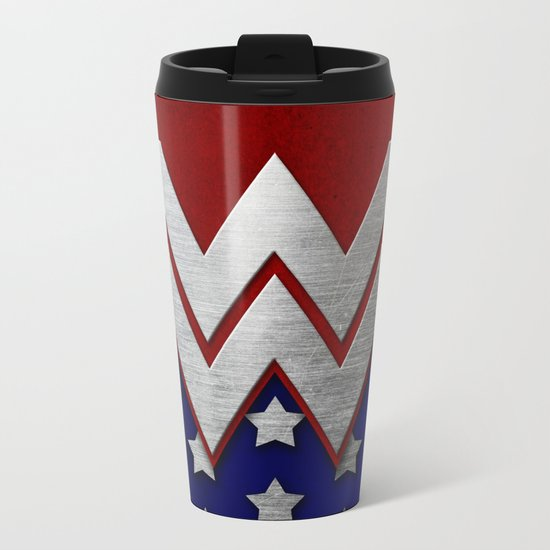 "Wonder ""New 52"" Woman Metal Travel Mug"