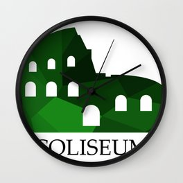 Coliseum Wall Clock