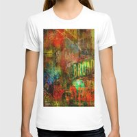 broadway T-shirts featuring Slice of Broadway by Ganech joe