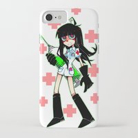 doctor iPhone & iPod Cases featuring Doctor by M-chi